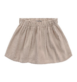 Your Wishes Beige Ribcord - Skirt