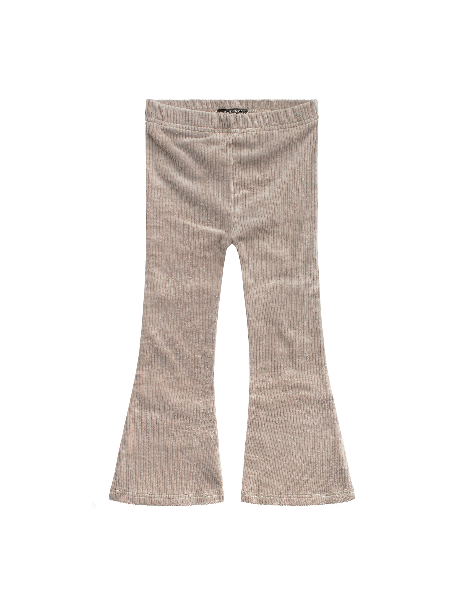 Your Wishes Beige Ribcord - Flared Legging