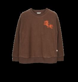 Ammehoela AM - Sweater Dark Brown - Rocky