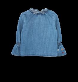 Ammehoela AM - Blouse Denim Blue - Olivednm