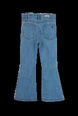 Ammehoela Flair Pants Denim Blue - Livdnm