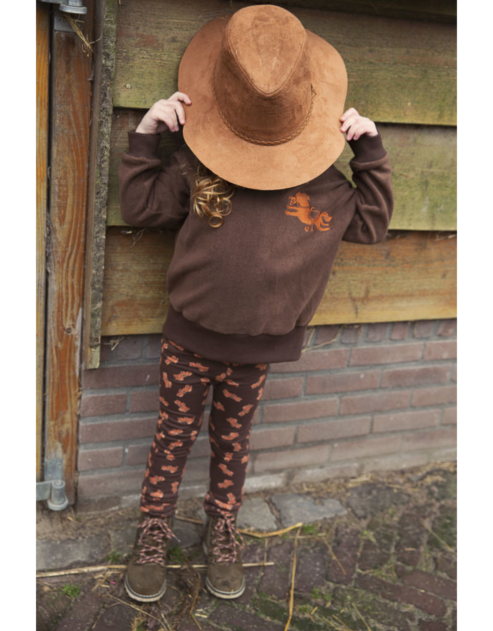 Ammehoela Trouser Horse Brown - James