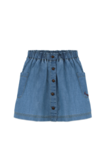 Ammehoela Skirt Denim Blue - Flynndnm