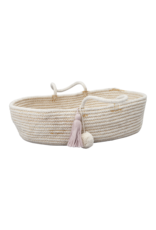 Fabelab FBL Rope Doll Basket Mauve