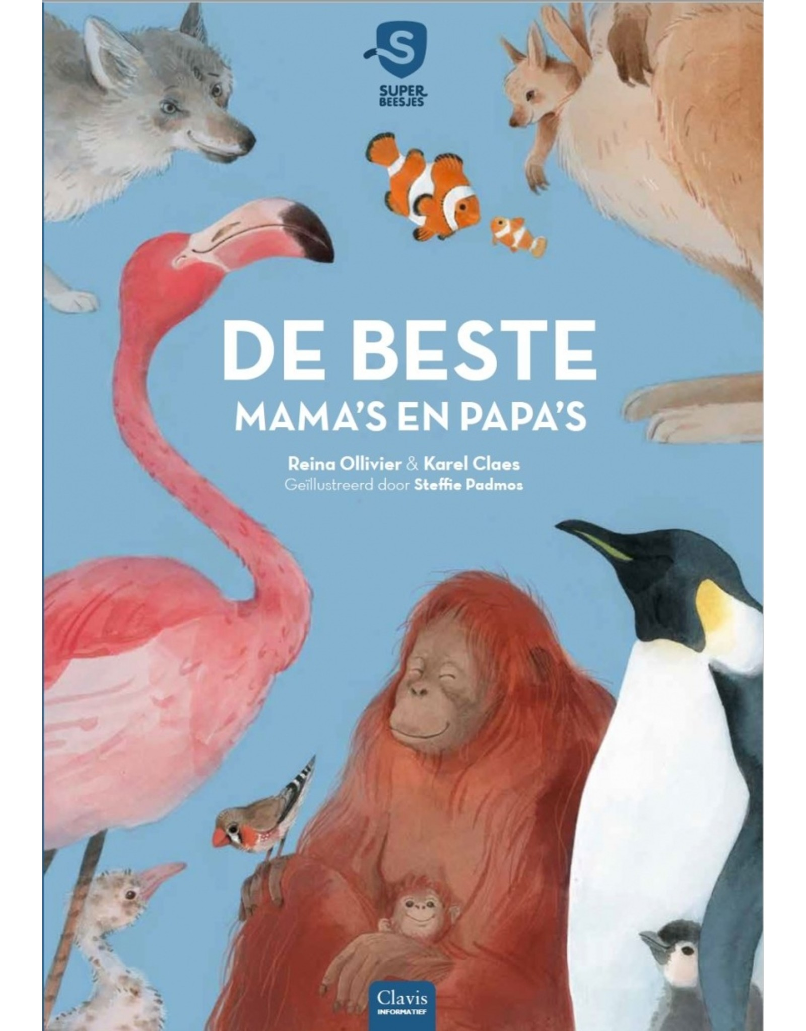 Boek -  De beste mama's en papa's