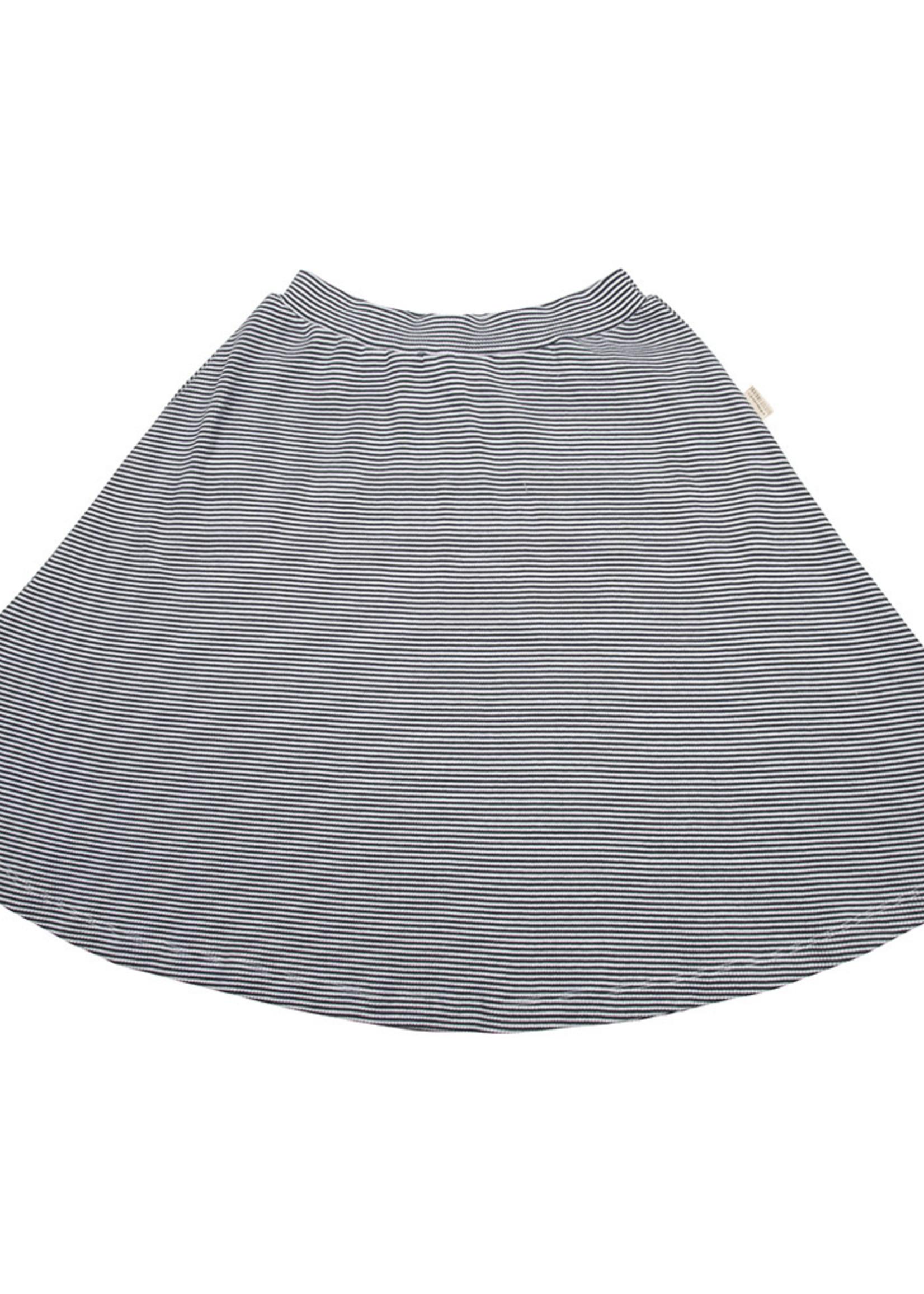 Little Indians Maxi Skirt - Small Stripe Rib