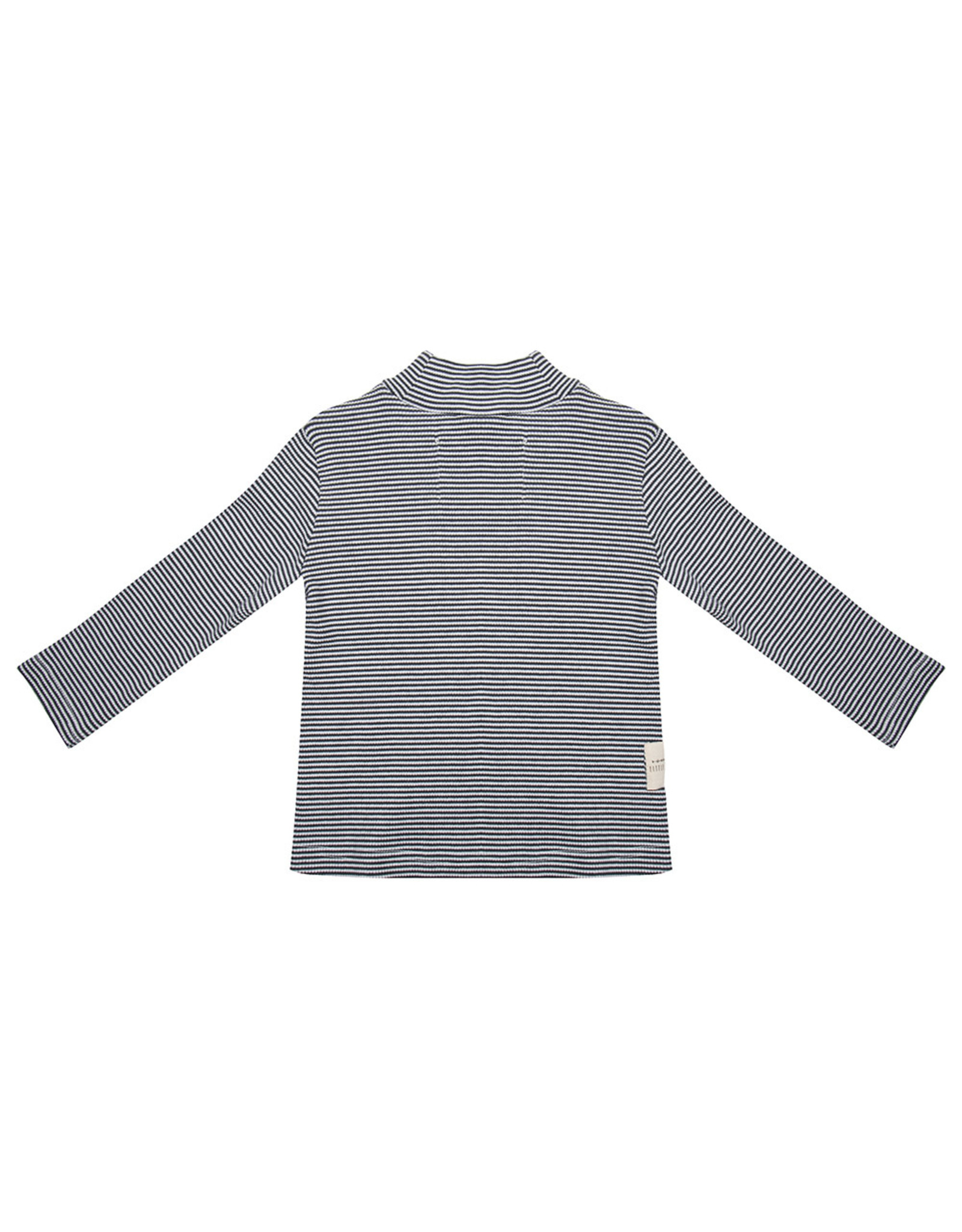 Little Indians Longsleeve Turtle Neck - Small Stripe Rib