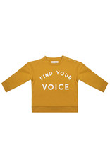 Little Indians Sweater Find Your Voice - Honey