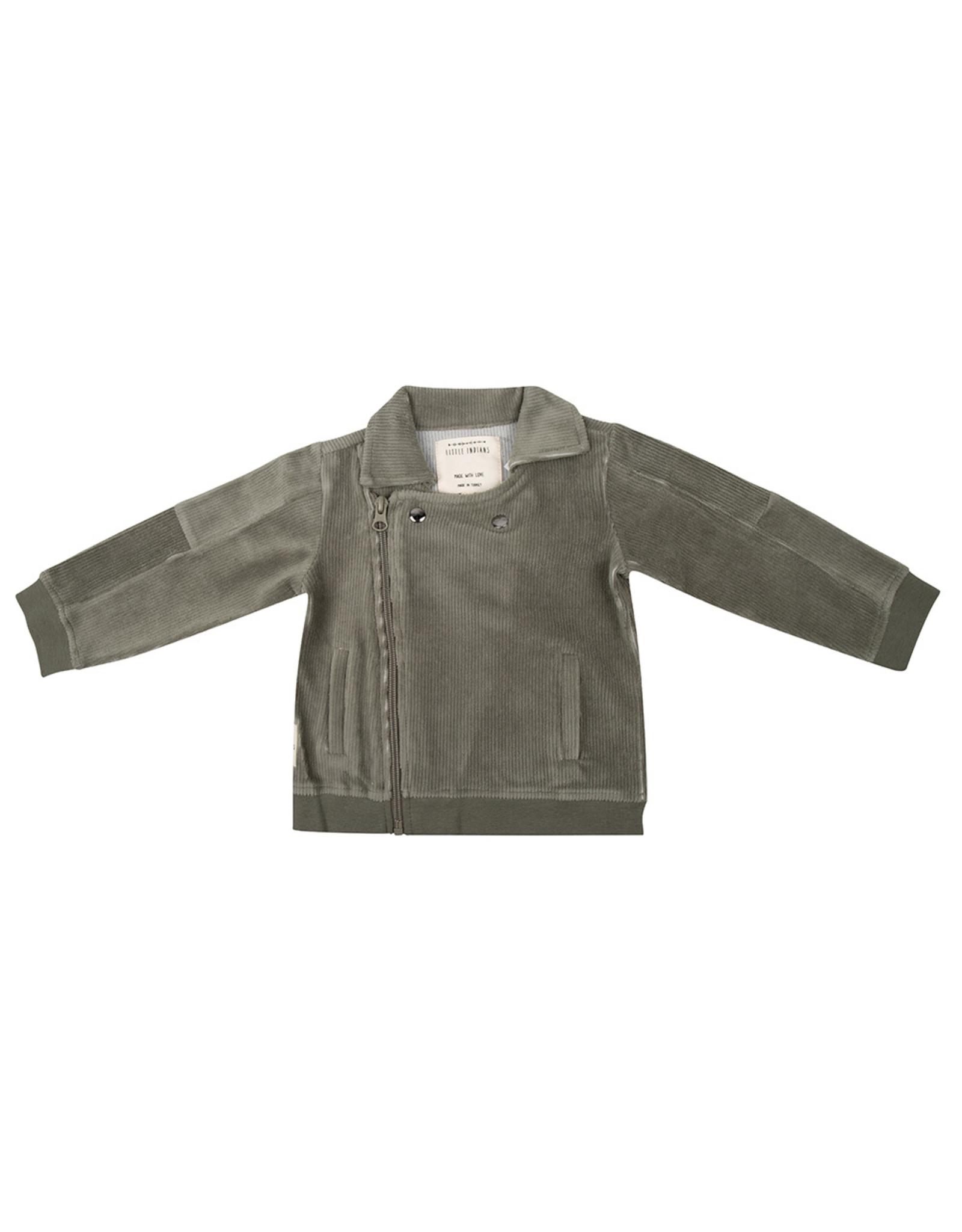 Little Indians Jacket - Corduroy Green
