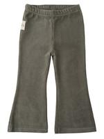 Little Indians LI - Flared Pants - Corduroy Green
