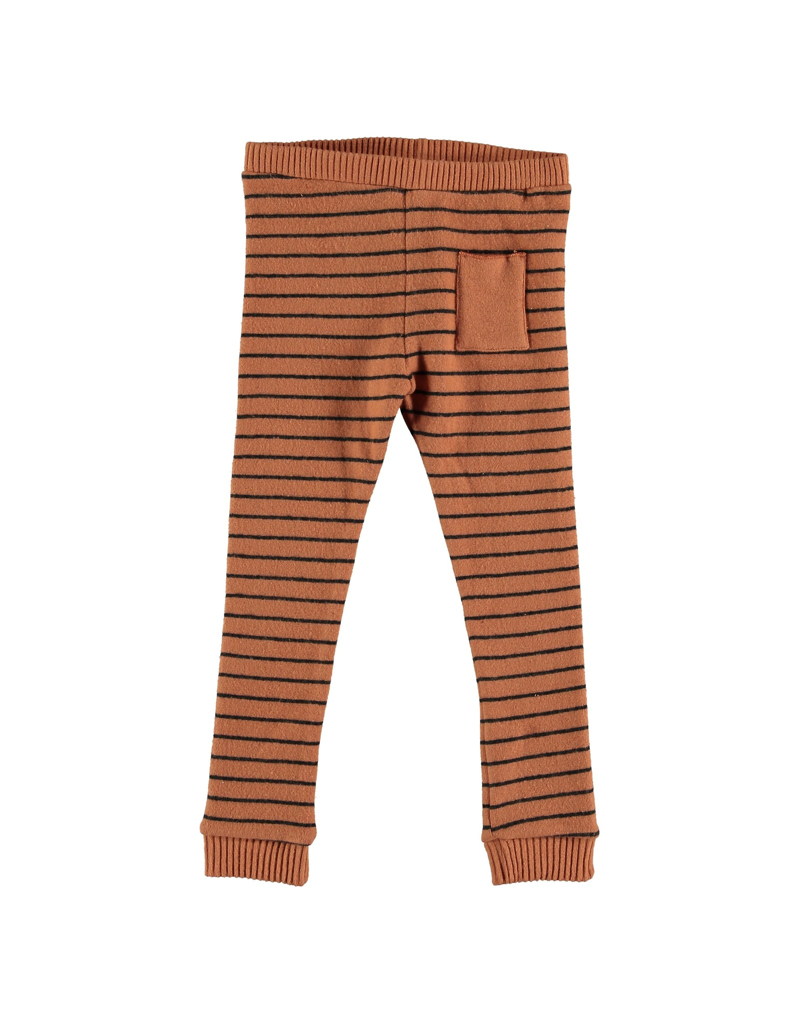 My Little Cozmo Trousers Kids Stripes Rust - Oban