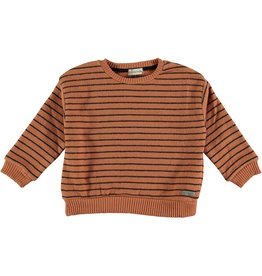 My Little Cozmo Jersey Kids Stripes Rust - Dundee