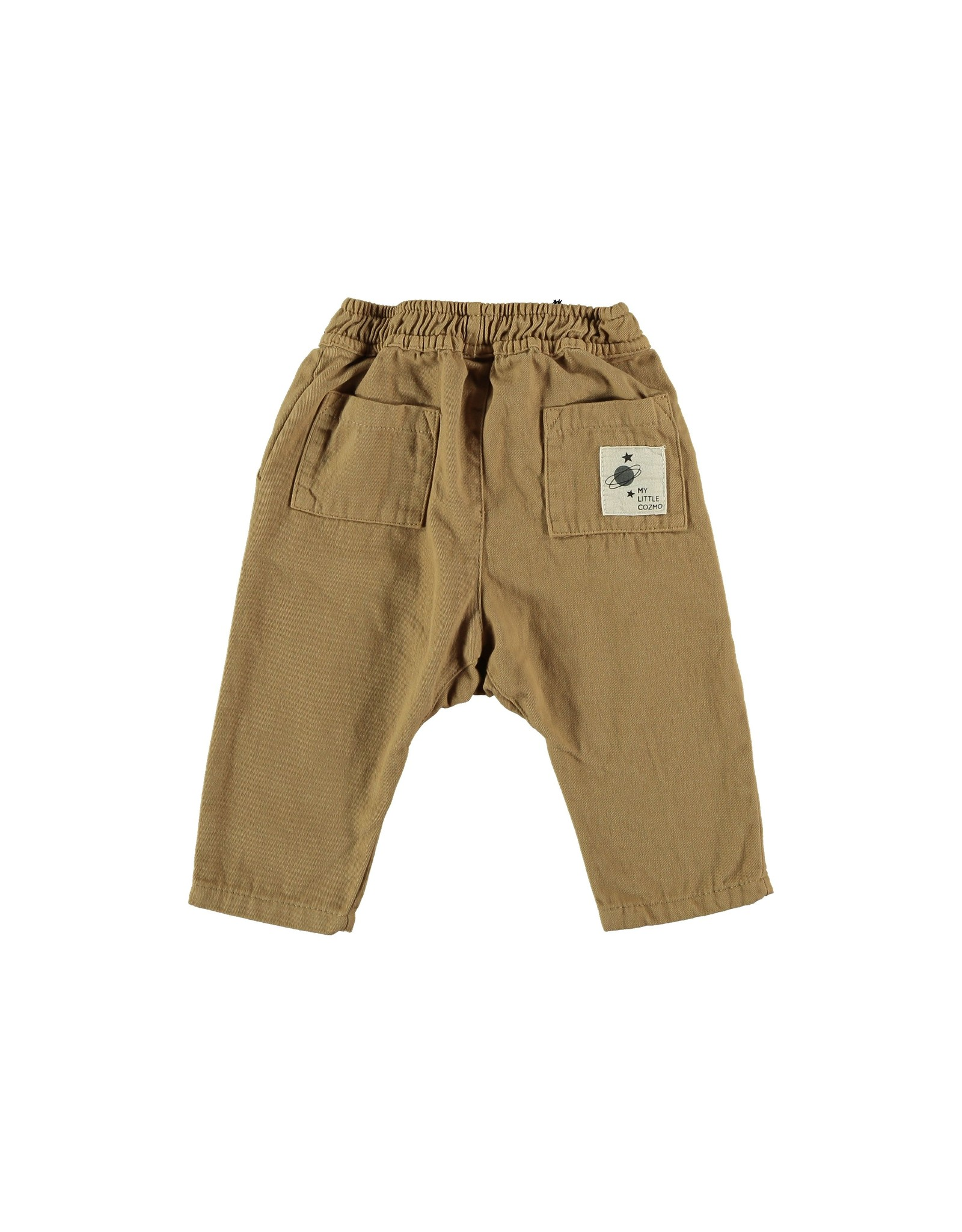 My Little Cozmo Trousers Baby Twill Camel - Chino