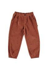 My Little Cozmo Trousers Kids Dots Rust - Dona