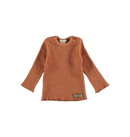 My Little Cozmo Rib Jersey Kids Rust - Portree