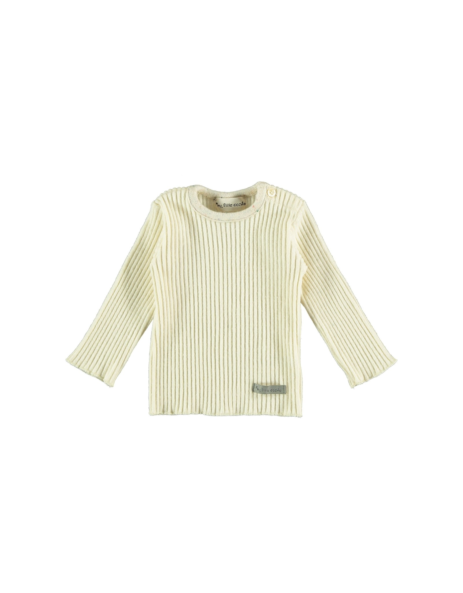 My Little Cozmo Rib Jersey Baby Ivory - Portree