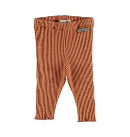 My Little Cozmo Legging Baby Rib Rust - Norway