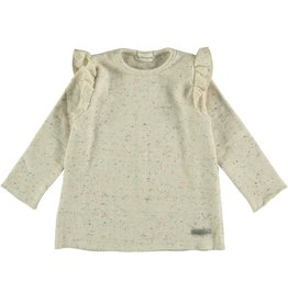 My Little Cozmo Jersey Kids Knit Ivory - Charlotte