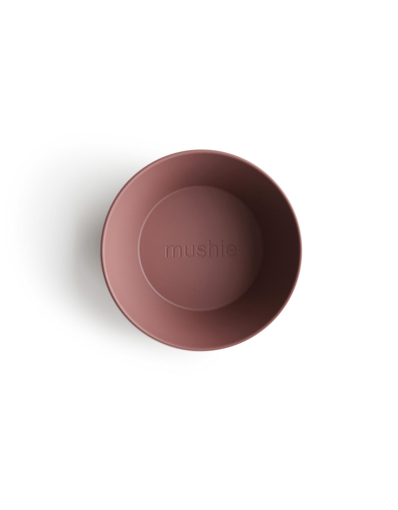 Mushie MUSHIE - Bowl Round Woodchuck
