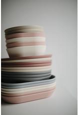 Mushie MUSHIE - Plates Round Smoke