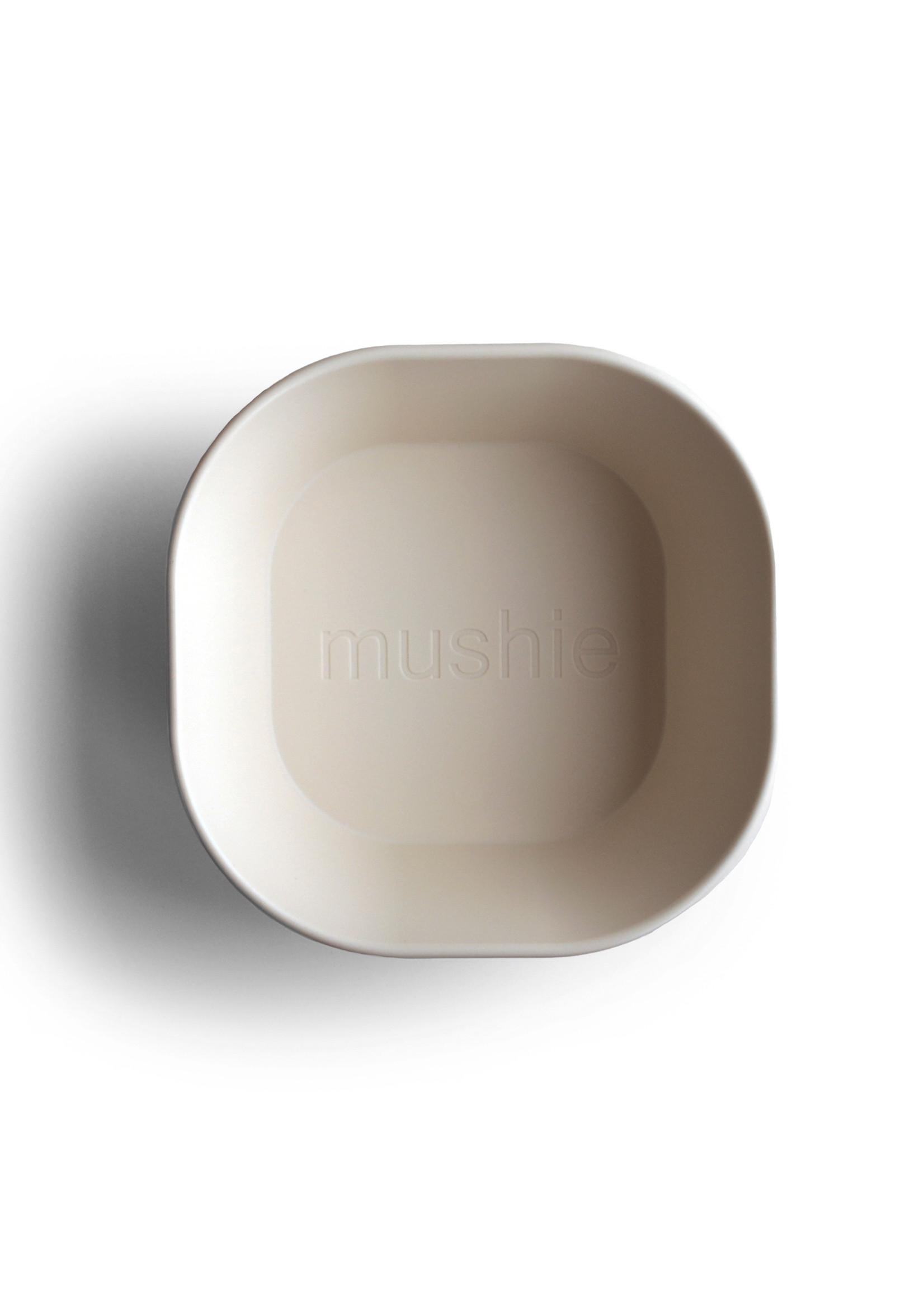 Mushie MUSHIE - Bowl Square Ivory