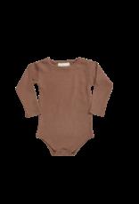 Blossom Kids Body long sleeve - soft rib Hazelnut