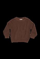 Blossom Kids Knitted Jumper - Dark chocolate