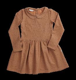 Blossom Kids BK - Dress long sleeve - Leave drops