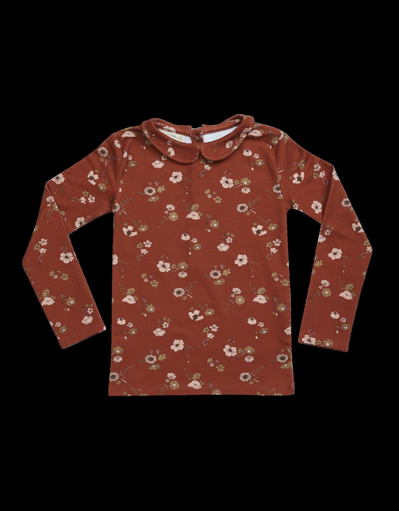 Blossom Kids Long sleeve shirt - Festive Floral