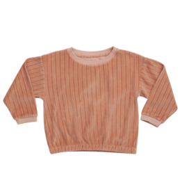Blossom Kids BK - Cropped Jumper - Peach Pastel