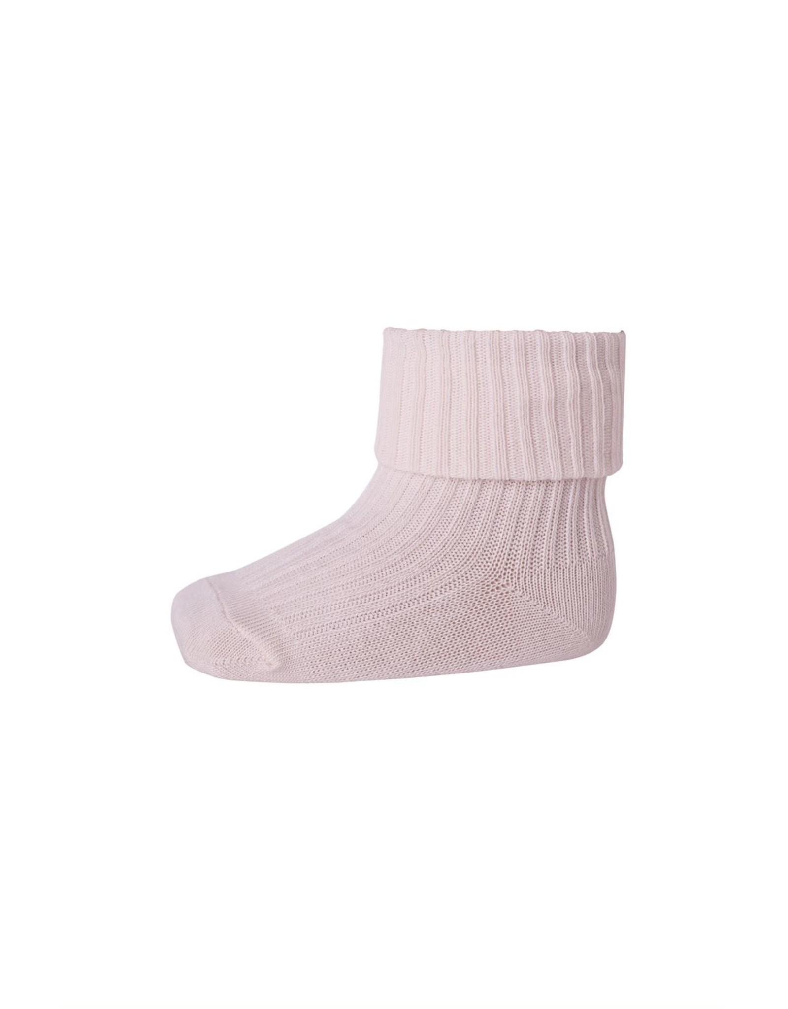 MP Denmark MP - Ankle Wool Rib - Light Rose