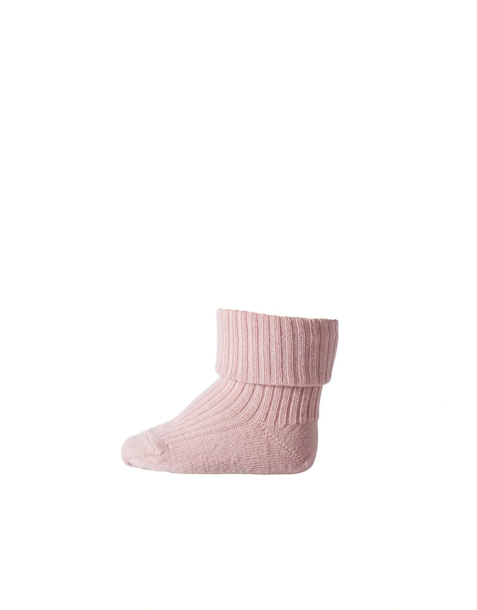 MP Denmark MP - Ankle Wool Rib - Wood Rose