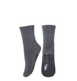 MP Denmark MP - Ankle Uni Cotton - Dark Grey Melange