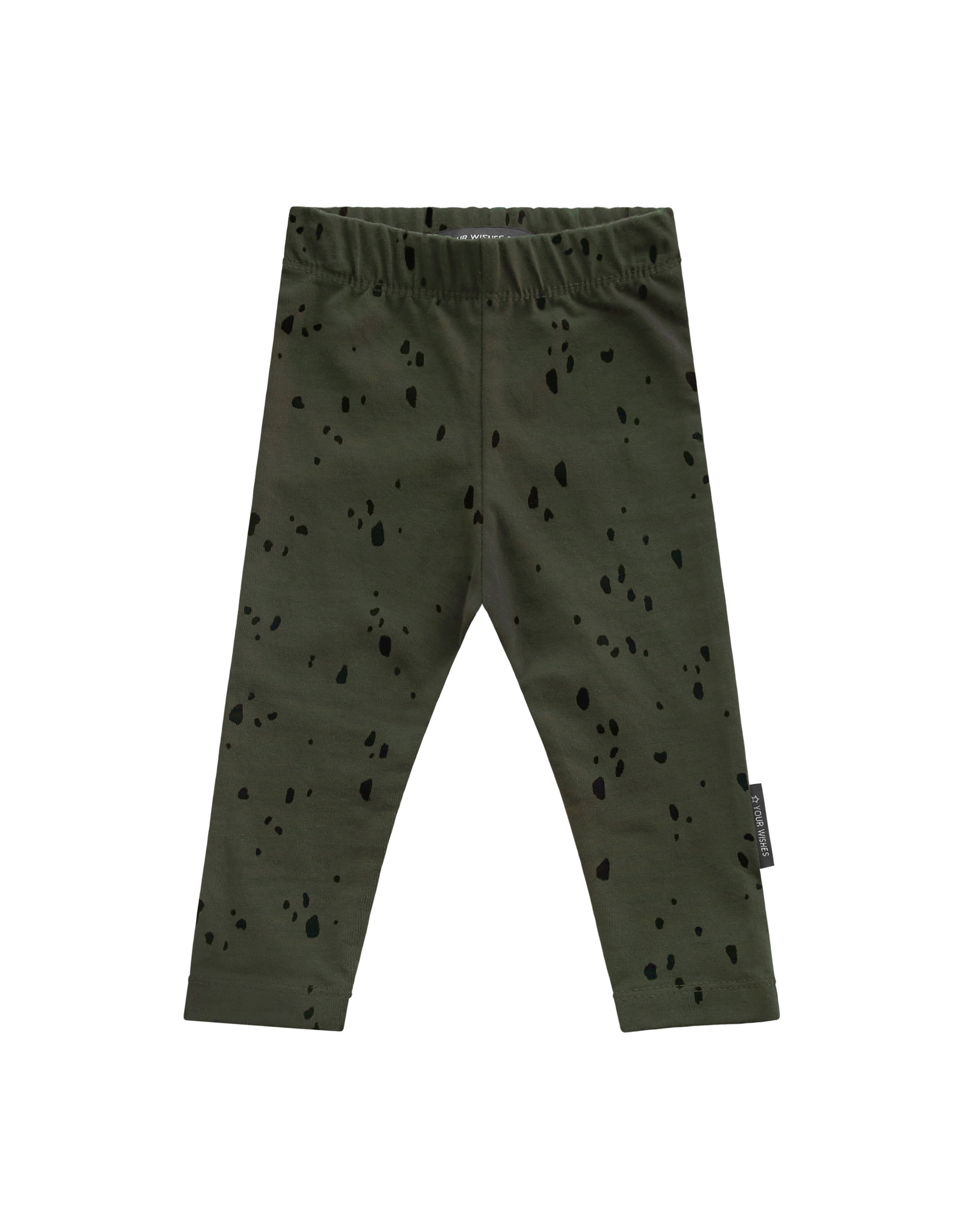 Your Wishes YW | Splatters | Legging | Desk Green