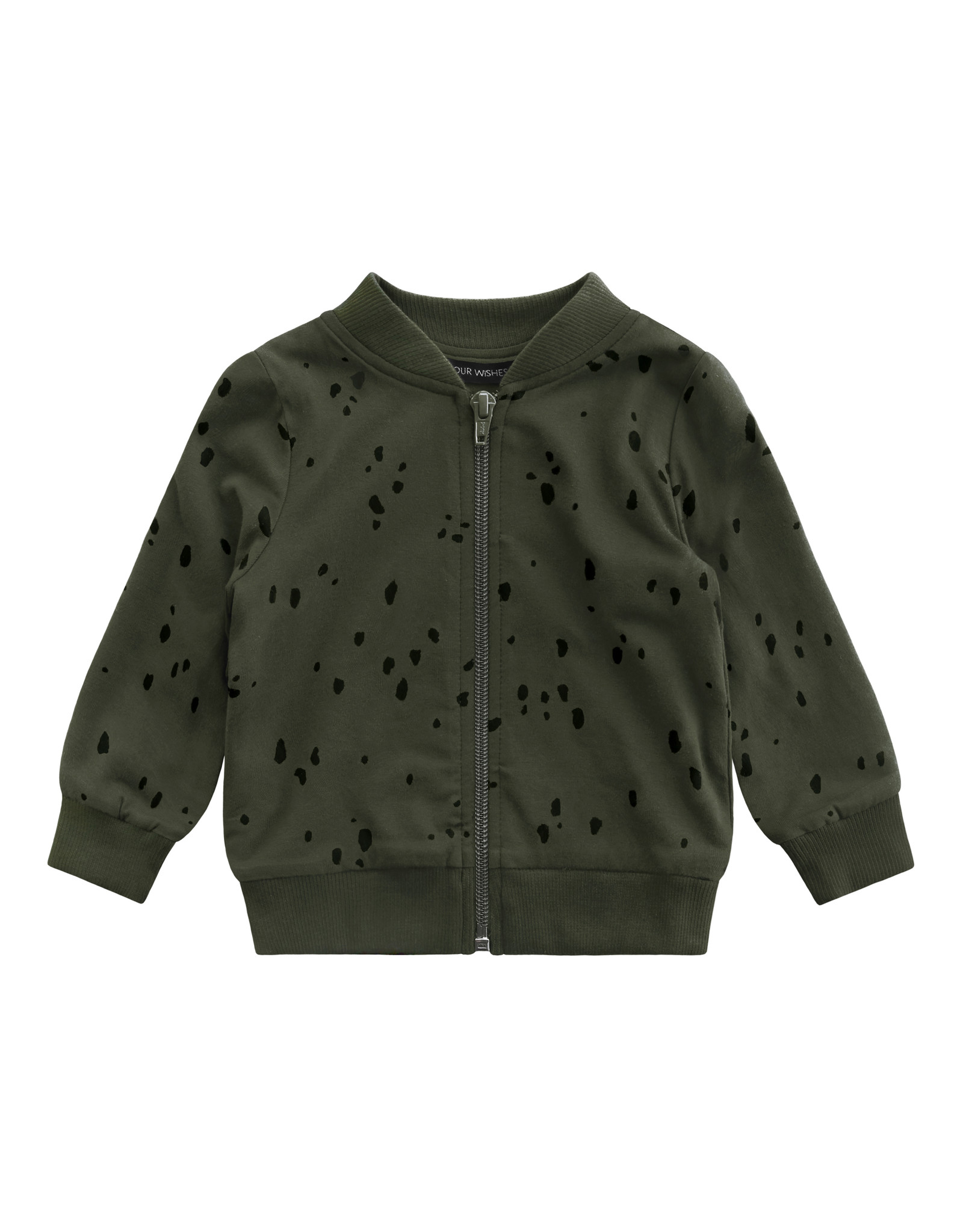Your Wishes YW | Splatters | Bomber | Desk Green