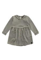 Your Wishes YW | Beige - Stripes | Button Dress | Chalk