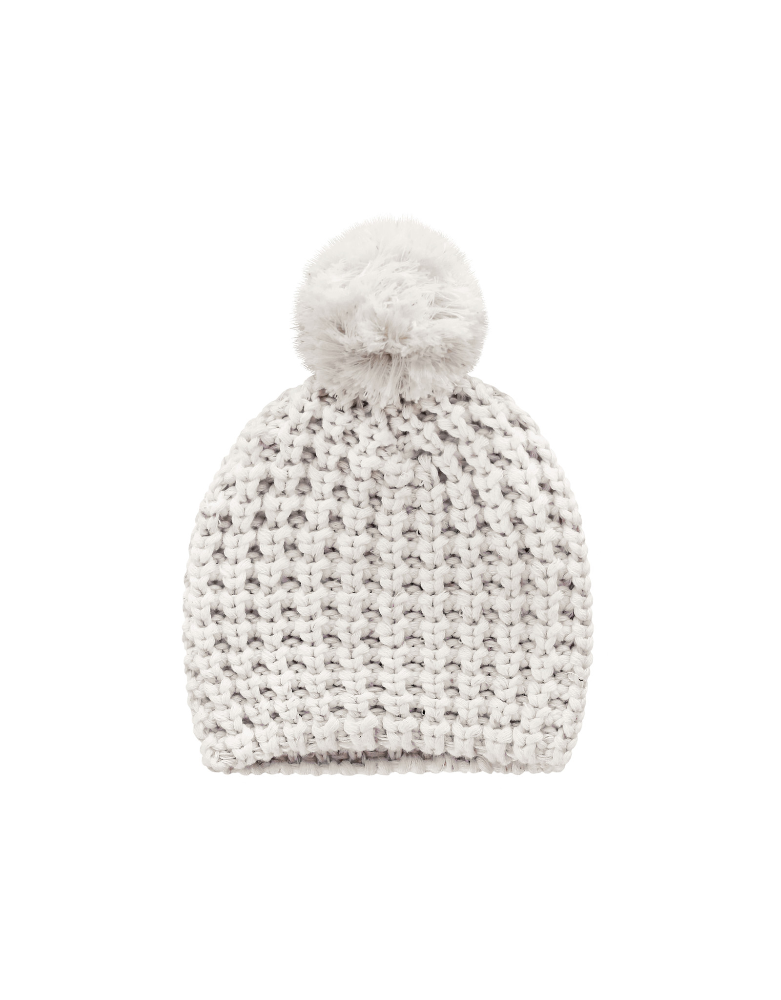 Your Wishes YW | Knit | Pompom Hat | Chalk