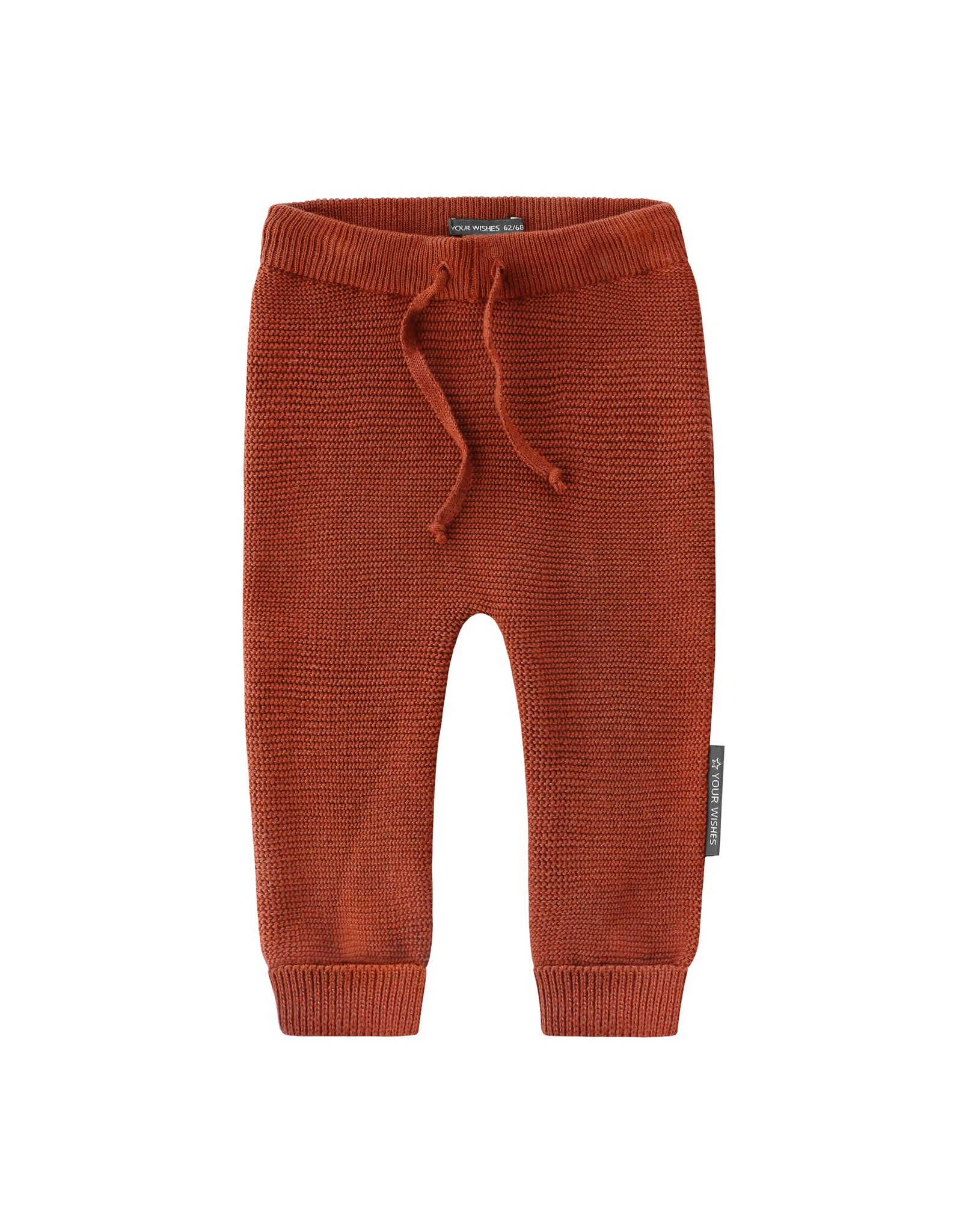 Your Wishes YW | Knit | Pants | Rust