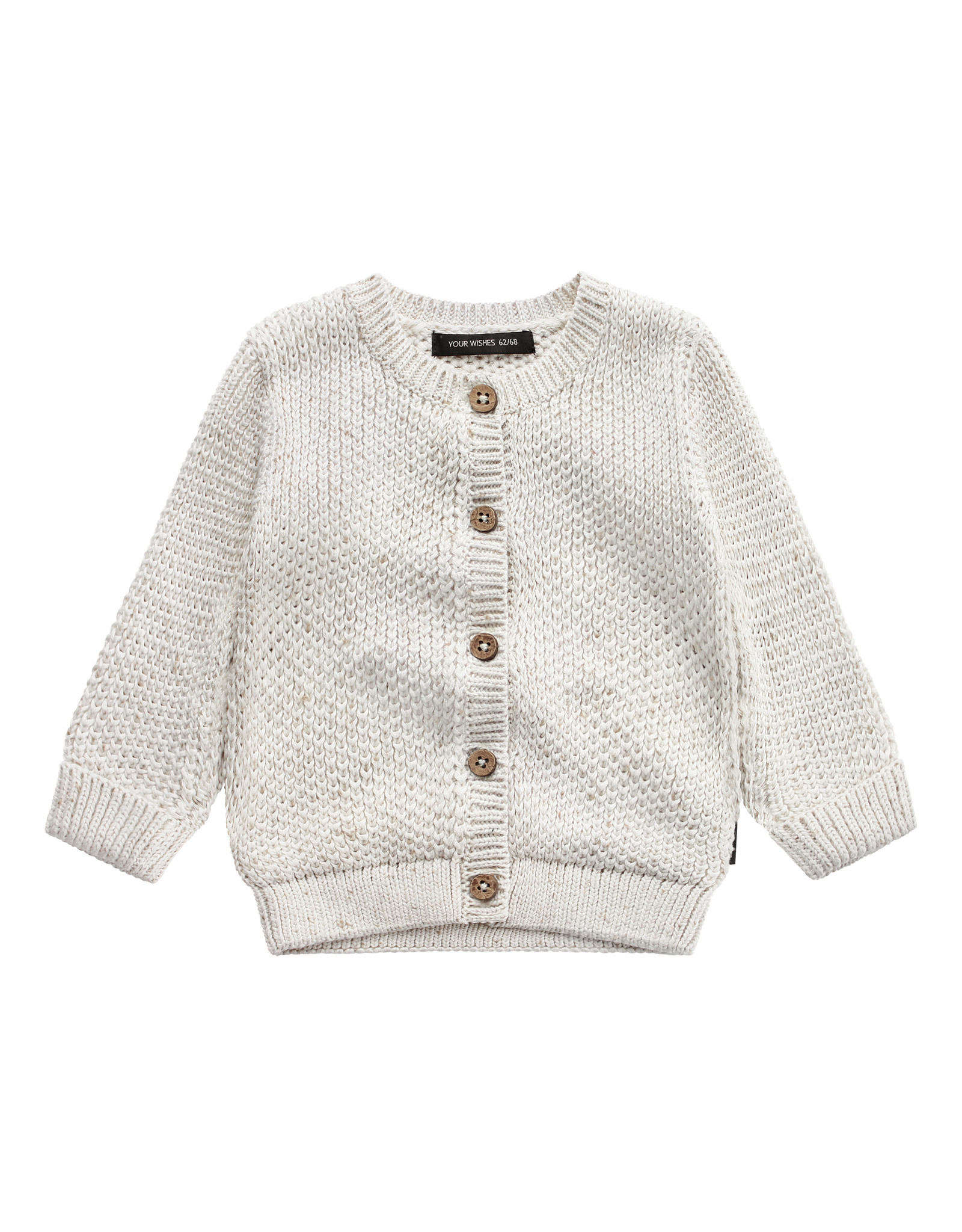 Your Wishes YW | Knit | Vest | Chalk