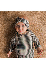 Your Wishes YW | Beige - Stripes | Twisted Headband | Chalk
