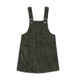 Your Wishes YW | Corduroy | Pinafore | Desk Green