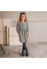 Your Wishes YW | Beige - Stripes | Button Dress | Beige