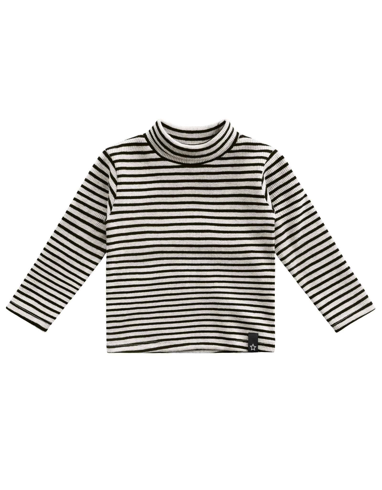 Your Wishes YW | Beige - Stripes | Turtleneck | Chalk