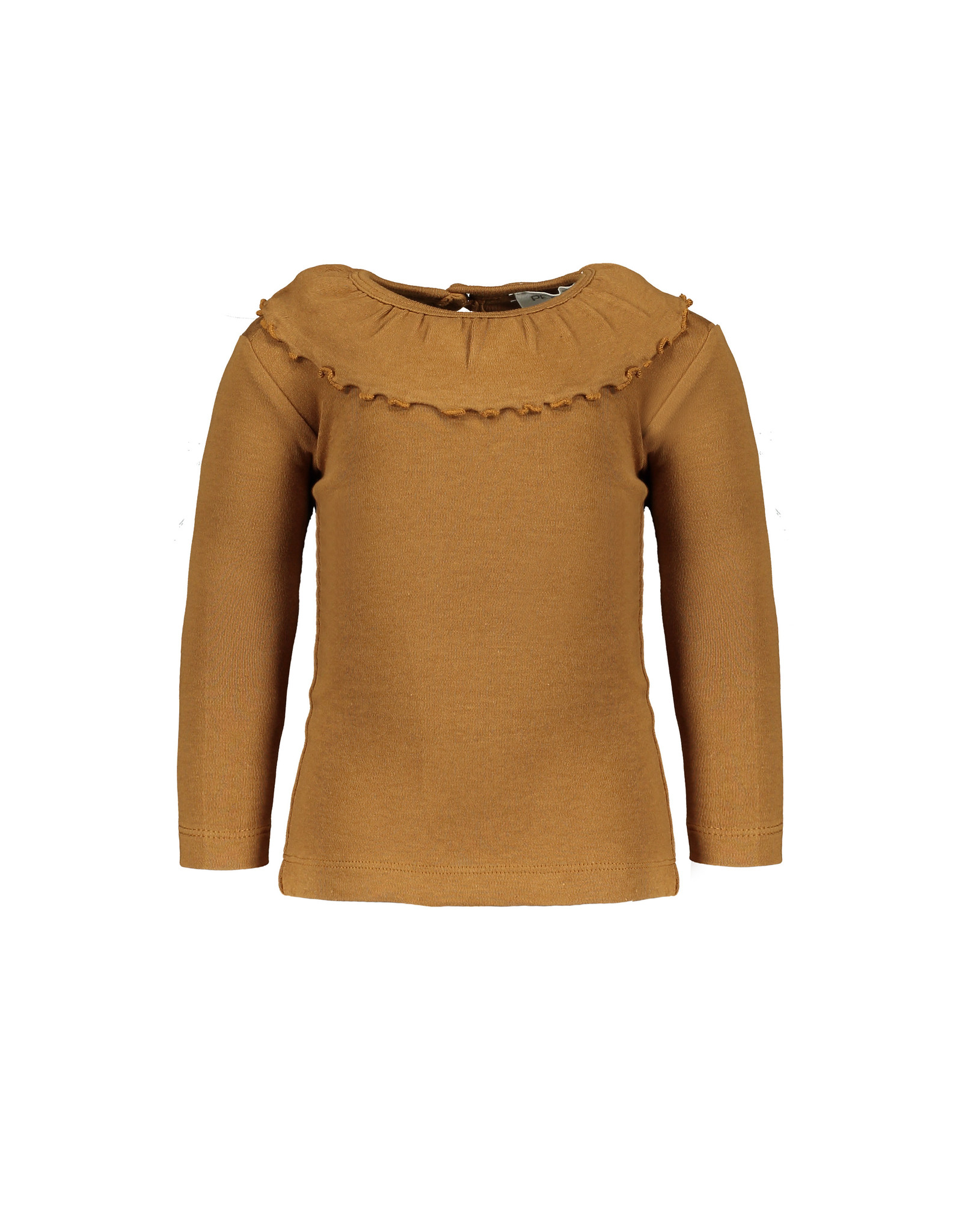 Pexi Lexi Shirt LS Ruffle - Mustard