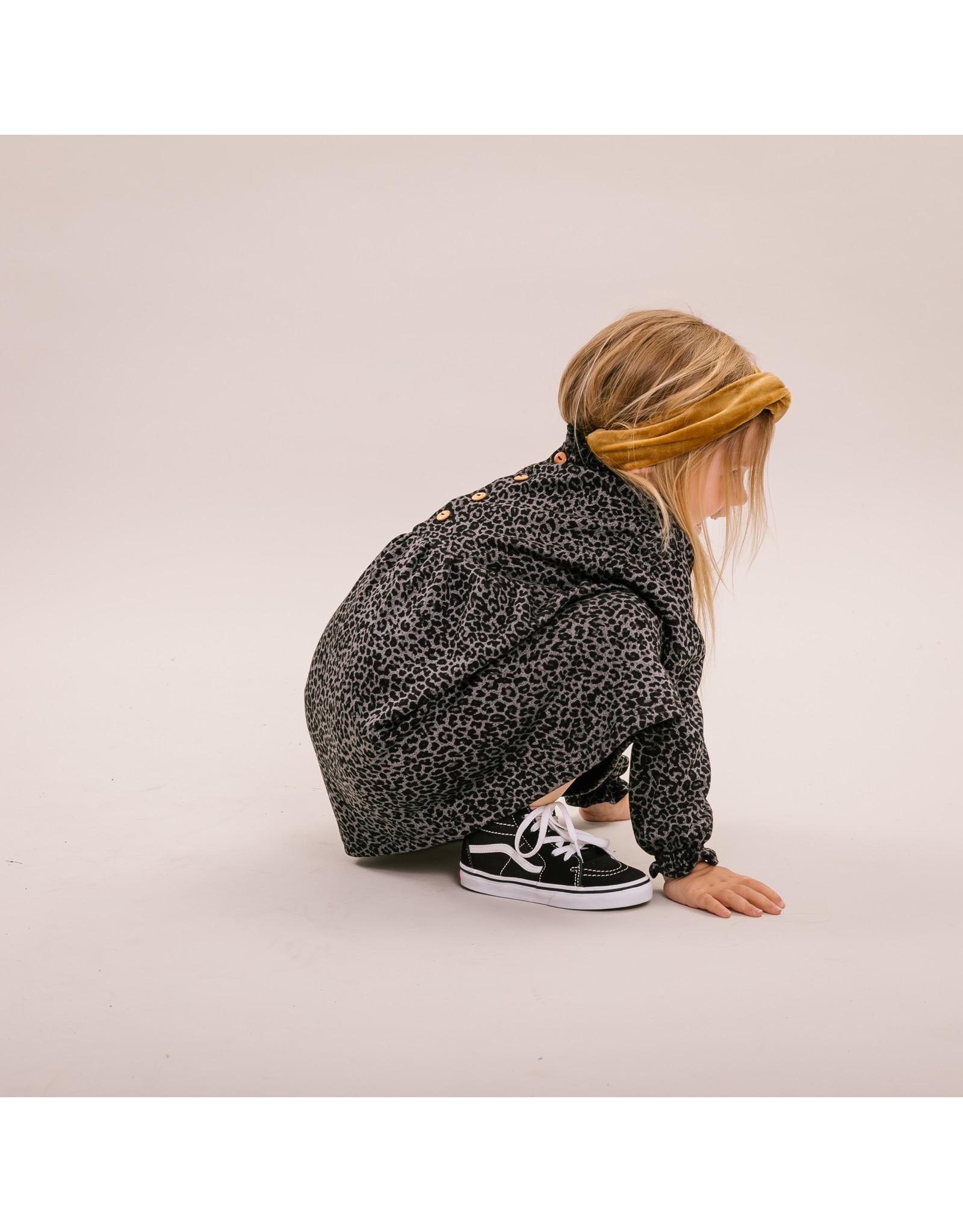 NL - Dress - Grey Leo
