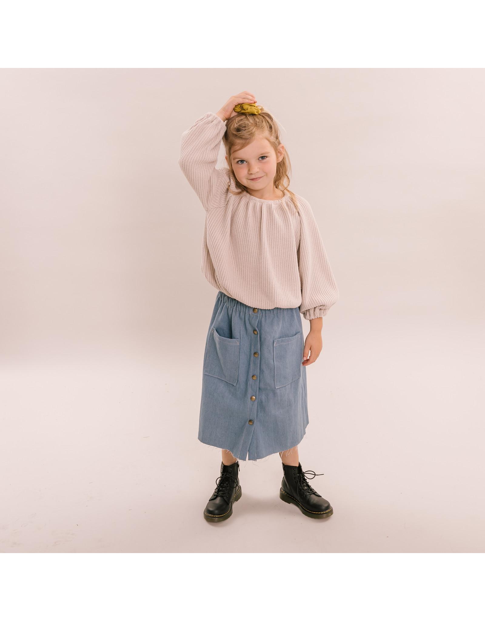 NL - Maxi skirt - Denim