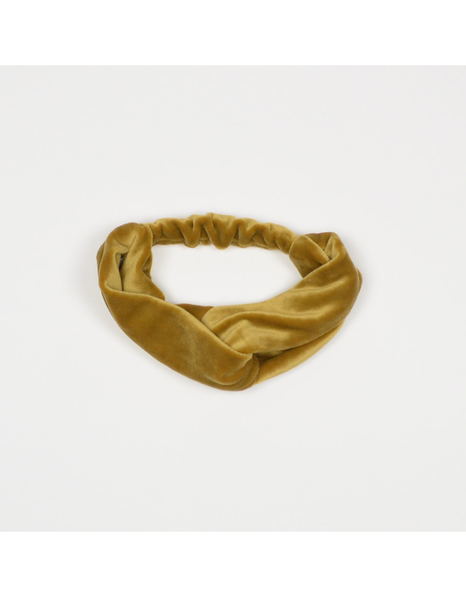 No labels NL - Tulband - Velvet Gold