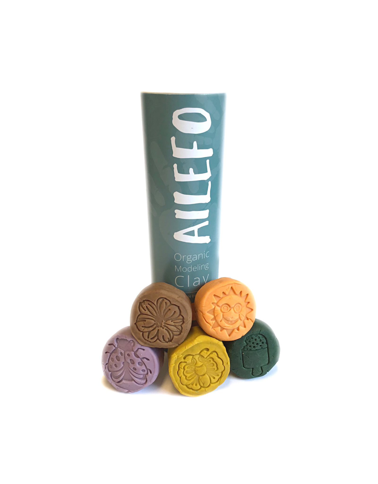 Ailefo Ailefo - Organic modeling clay-Forest colors-small tube