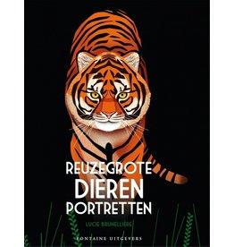 Harlekijn Boek - Reuzegrote dierenportretten