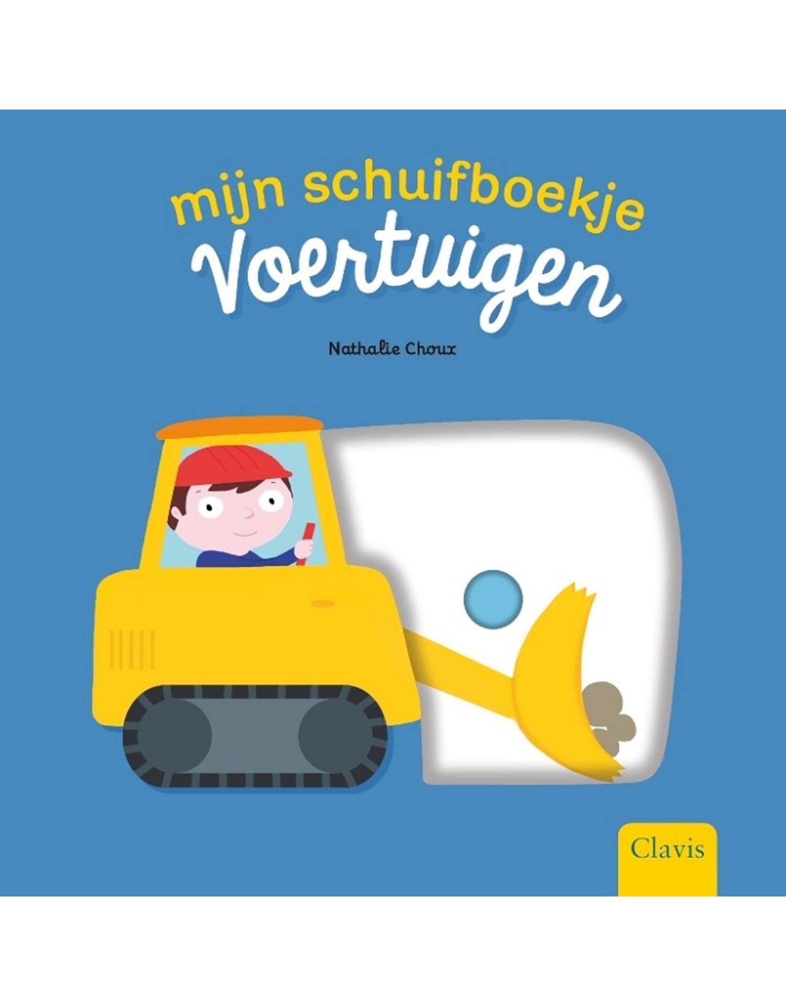 Harlekijn Boek - Mijn schuifboekje: Voertuigen
